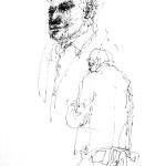 Rysunek Małgorzaty Kulczyk - 11 z koncertu Olgierda Łukaszewicza 2013