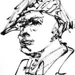 Rysunek Małgorzaty Kulczyk - 4 z koncertu Olgierda Łukaszewicza 2013