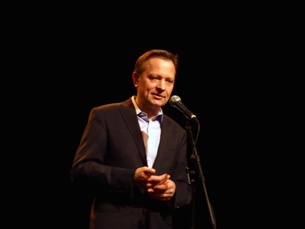 Jerzy na scenie teatru Odeon