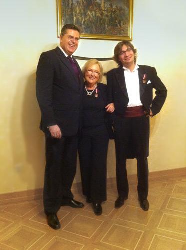 Barbara Ahrens-Młynarska Zasłużona Kulturze GLORIA ARTIS